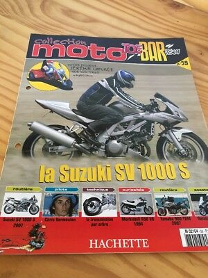 Joe Bar Team fasicule n° 59 collection moto Hachette revue magazine brochure