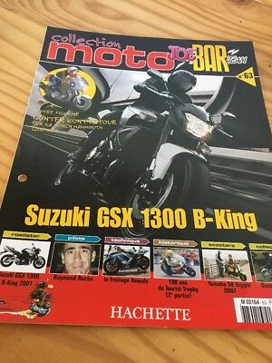 Joe Bar Team fasicule n° 63 collection moto Hachette revue magazine brochure