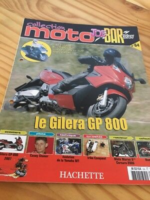 Joe Bar Team fasicule n° 64 collection moto Hachette revue magazine brochure