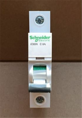 10Pcs Schneider Small IC65N 1P C1A Air Circuit Breaker Switch Brand New