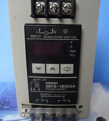 1Pc Used Omron S8VS-18024A Power Supply Tested It In Good Condition