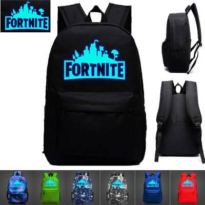 2018 Fortnite Backpack Rucksack Survival Gaming Battle Royale Kids Boy Girls 20L