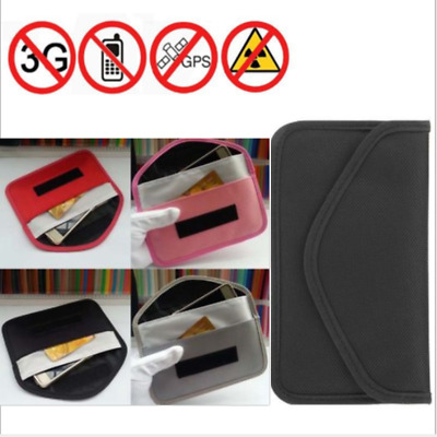 Mobile Phone Signal Blocking Bag Blocker Anti-Radiation Phone Pouch Wallet Case