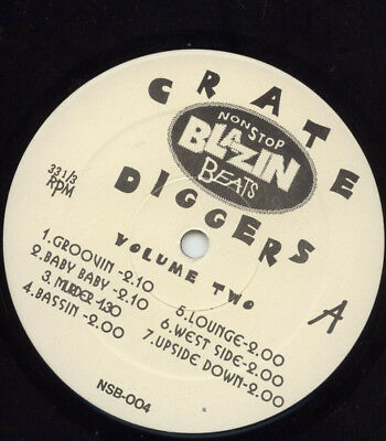 """The Crate Diggers - Crate Diggers Volume Two Vinyl 12"""" 0714645"""