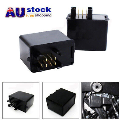 7pin LED Turn Signal Flasher Relay DR-Z 400 GSX 1200 DL1000 Indicator For Suzuki