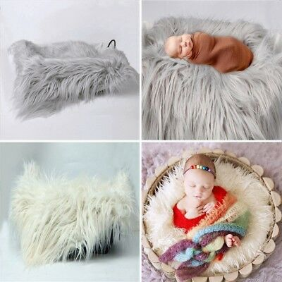 Newborn Baby Kids Child Photography Photo Shoot Props Outfits Blanket Wraps x1