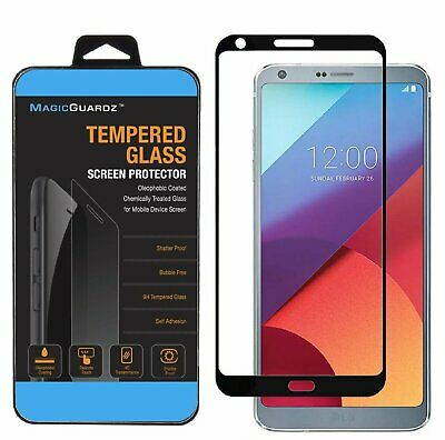 FULL COVER Premium Tempered Glass Screen Protector For LG G6 G6+