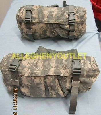 Lot of 2 MOLLE II Waist Pack Butt/Fanny Hip Bag ACU US Military VGC EXCELLENT