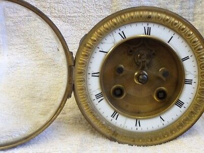 Striking French Clock Movement For Repair Or Spares.