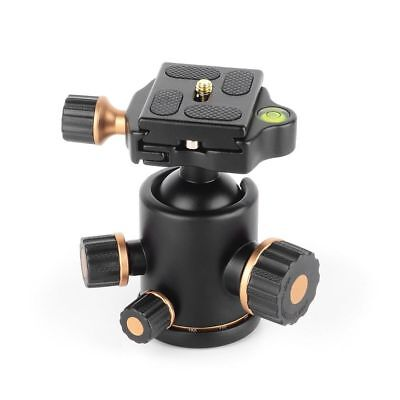 360 Degree Rotating Panoramic Tripod Ball Head Ballhead for Photography DSLR Cam