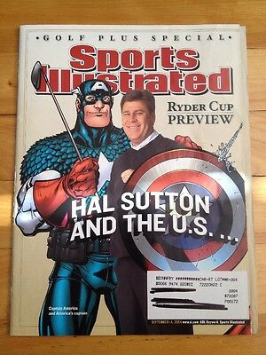sports illustrated ryder cup preview 2004 captain america