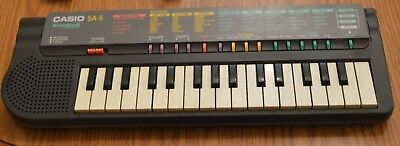 Vintage Casio SA-5 Song Bank Keyboard ~ Working Condition
