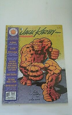 The Jack kirby collector magazine # 19, 1998