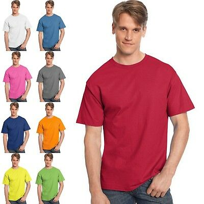 Hanes TAGLESS T-Shirt Size S - 6X  -- Buy Two Get Third One Free -- Style # 525Y