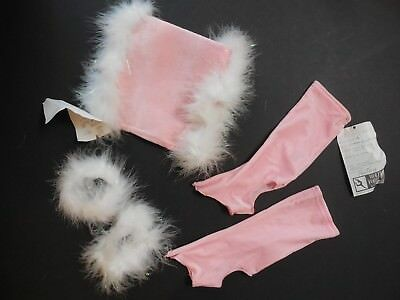 NEW VELVET LYCRA KNEE LENGTH Bootcovers Muff Small Child Candy Pink