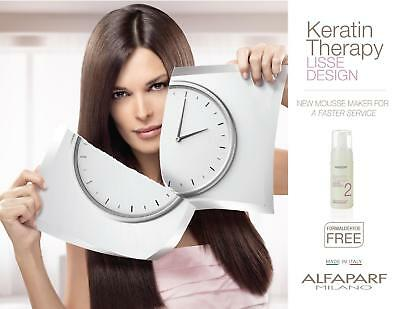 Alfaparf Lisse Design  Keratin Therapy Treatment Kit Straightening  Hair