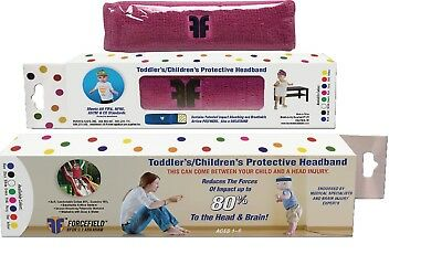 Dr. C.J. Abraham's Forcefield Protective Sweatband for Children (Toddler -Pink)