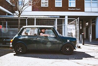 1989 Austin Mini Racing Green Edition Only 43k Miles No Reserve
