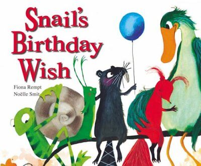 Snail's Birthday Wish by Rempt, Fiona Paperback Book The Cheap Fast Free Post