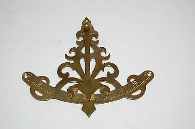 Antique looking brass or bronze tool for measuring Angles 0-40° possibly sextant