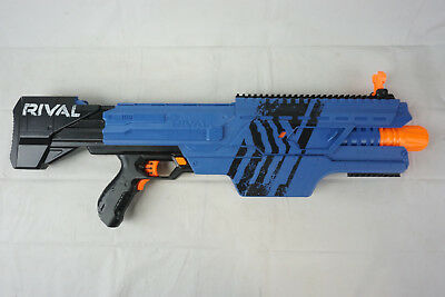 Blue Nerf MXVI4000 Blaster Rival Replacement Gun (No Clip/Battery Cover or Pack)