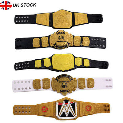 WWE Wrestling World Heavyweight Eagle Action Figure Championship Title Belts UK