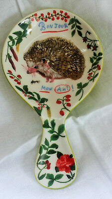 Anthropologie Nathalie Lete Hedgehog Spoon Rest