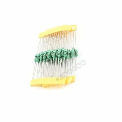 100Pcs 0410 Color Ring Inductance 47Uh 470K 1/2W Axial Rf Choke Coil Inductor xc