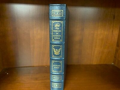Easton Press-The Memoirs of Richard Nixon Vol. 1 only -Lib. of Presidents-MINT