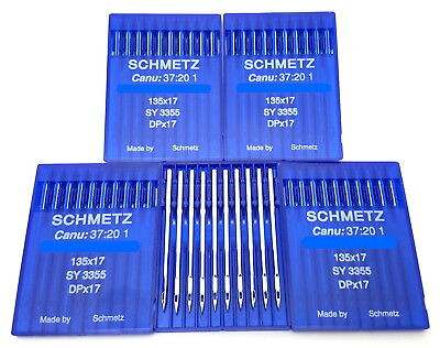 50 Schmetz 135X17 Dpx17 Sy3355 Industrial Sewing Machine Needles Walking Foot
