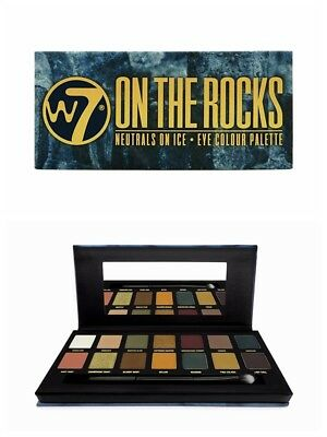 W7 on the Rocks Naturals auf Eis 14PC Augenfarbe Lidschatten Palette