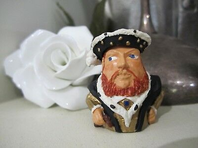 King Henry VIII collectible metal hand painted Thimble