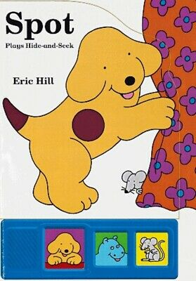 Spot plays hide-and-seek by Eric Hill (Hardback)