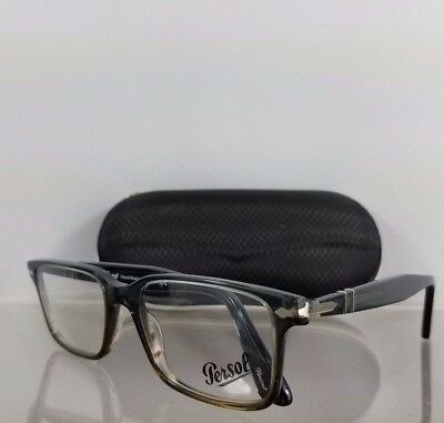 Brand New Authentic Persol Eyeglasses 2880-V-M 1012 Grey/Brown 54mm Frame