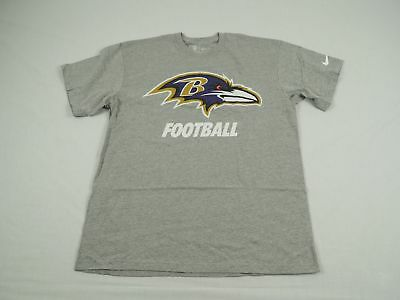 b46fb49c6 NEW Nike Baltimore Ravens - Gray Cotton Short Sleeve Shirt (Multiple Sizes)