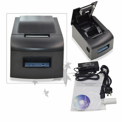 90mm USB POS THERMAL RECEIPT PRINTER Barcode Ticket Thermal Direct Line POS-5890