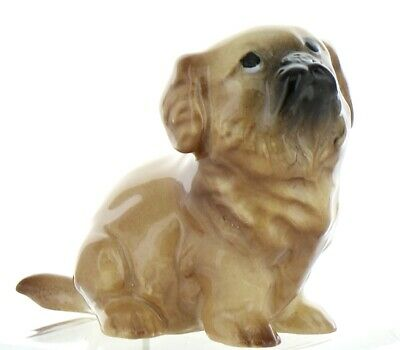 Red Sable Pekingese Pedigree Puppy Dog Figurine Handmade by Hagen-Renaker