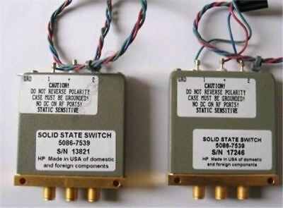 Used 1Pcs Hp/Agilent 5086-7539 Tbr Switch Sol State ih