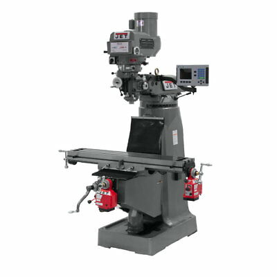 Jet 690413 JTM-4VS-1 Mill, 3-Axis ACU-RITE VUE DRO (Quill), X Y-Axis Powerfeed