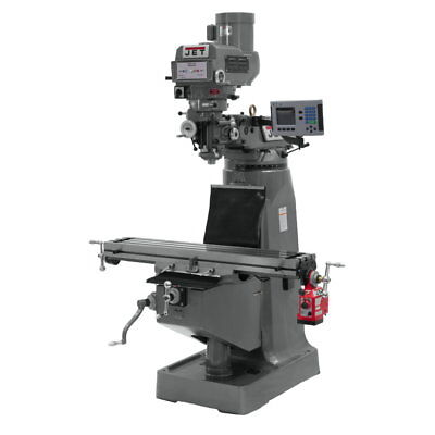 Jet 690410 JTM-4VS-1 Mill, 3-Axis ACU-RITE VUE DRO (Quill) With X-Axis Powerfeed