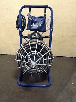 """Electric Eel Model R 3/4""""x100' Drain Sewer Pipe Cleaning Machine Plumbing Snake"""