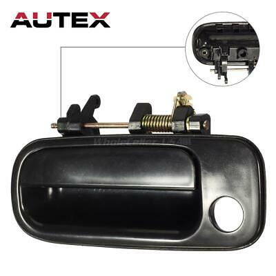77619 Exterior Door Handle Front Driver LH Side Black for 1992-1996 Toyota Camry