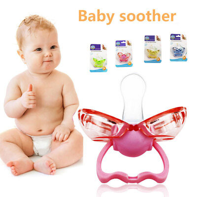 2018 Lovely Cute Pacifier Gift Soother Bottles 4 Colors Baby Nipple