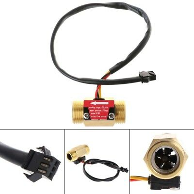 Flow Sensor G1/2'' Water Flow Hall Sensor Switch 1-25L/min Flow Meter Flowmeter