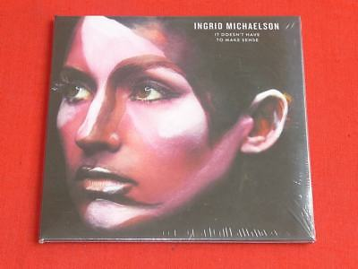 It Doesn't Have to Make Sense [Slipcase] by Ingrid Michaelson (CD, Aug-2016, Cab