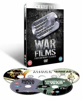 Greatest Ever War Films Collection - Contemporary Classics (Steel... - DVD  GWVG