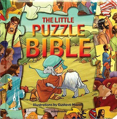 LITTLE PUZZLE BIBLE THE HB (Puzzle Bible Books) by NO AUTHOR Book The Cheap Fast