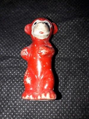1920s Bisque Pip Squeak and Wilfred Christmas Cake Decoration
