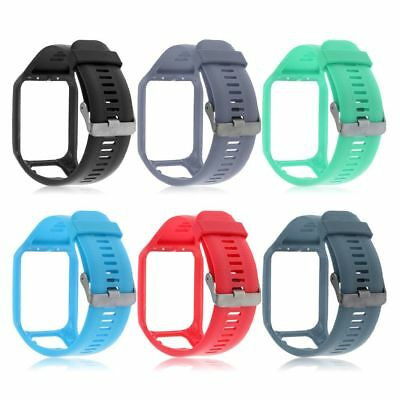 Replacement Silicone Wrist Band Watch Straps ForTomTom Touch/Runner 2 3 Spark 3
