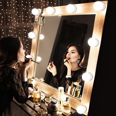 LED Vanity Lighted Hollywood Makeup Mirror with Stage Beauty Mirror Lights SU249